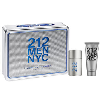 Carolina Herrera 212 Men Gift Set EDTS 50ml & 75ml, , large