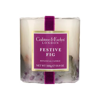 Crabtree & Evelyn  Botanical Candle Festive fig 560g, , large