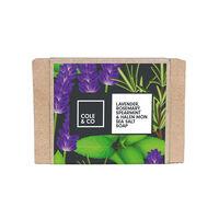 Cole & Co Lavender, Rosemary, Spearmint & Sea Salt Soap 80g, , large