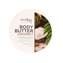 DermaV10 Body Butter Coconut 220ml, , large