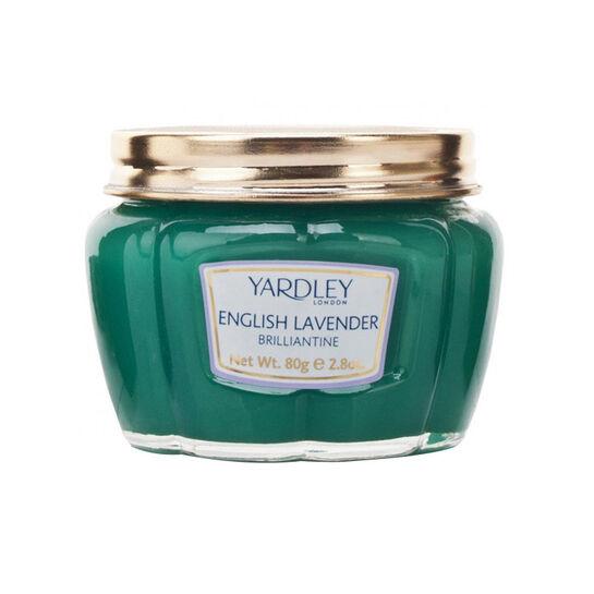 Yardley English Lavender Hair Brilliantine Pomade 80g, , large