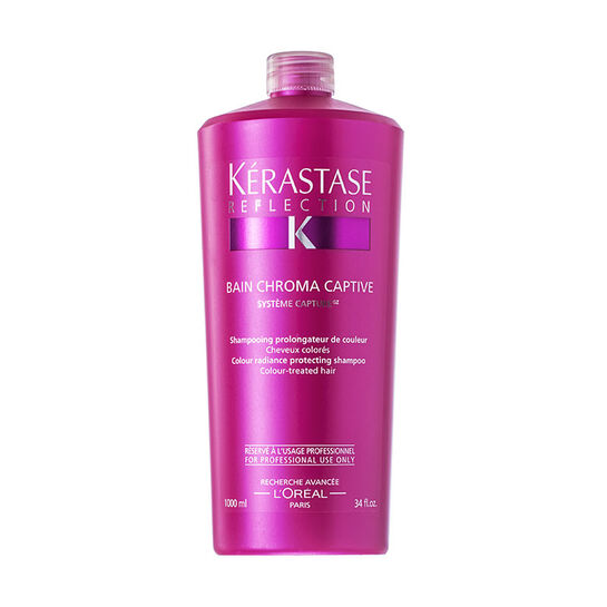 Kerastase reflection bain chroma captive shampoo 1000ml for Kerastase reflection bain miroir 1 shampoo