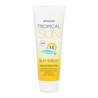 Anovia Tropical Sun SPF15 Sun Lotion 100ml, , large