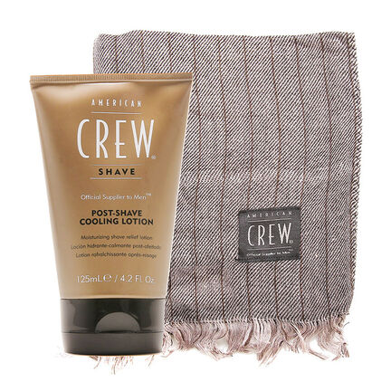 American Crew Post Shave Cooling Lotion 125ml Free Gift, , large