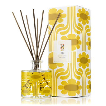 Orla Kiely Sicilian Lemon Scented Diffuser with Free Gift 20, , large