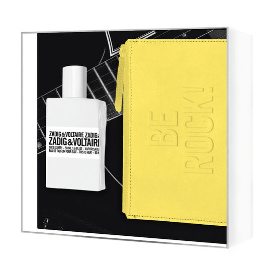 zadig voltaire this is her be rock gift set 50ml fragrance direct. Black Bedroom Furniture Sets. Home Design Ideas