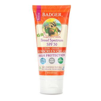 Badger Broad Spectrum Sunscreen Kids SPF 30 87ml, , large