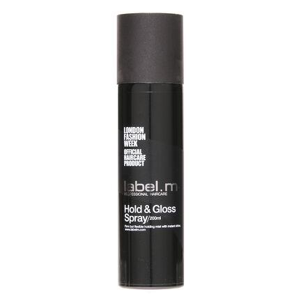 Label M Hold & Gloss Spray 200ml, , large