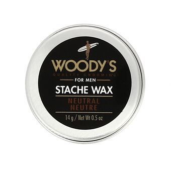 Woody's Grooming Stache Wax Neutral 14g, , large