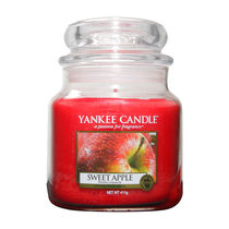Yankee Candle Medium Jar Sweet Apple, , large