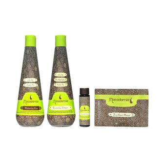 Macadamia Deep Repair Masque & Rejuvenating Shampoo Gift Set, , large