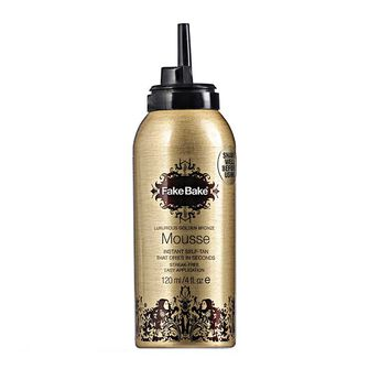 Fake Bake Luxurious Golden Bronze Instant Self Tan Mousse, , large