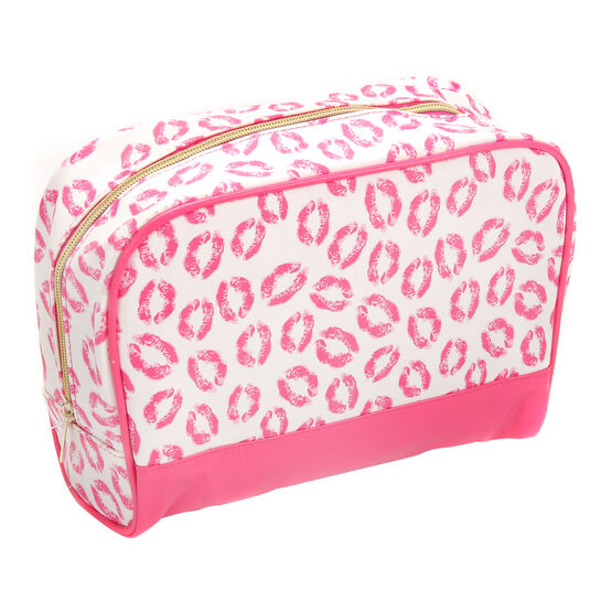 Kiss and Tell Toiletry Bag, , large