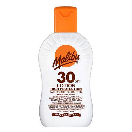 Malibu Sun Protection Lotion SPF30 200ml, , large