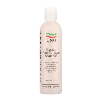 La Brasiliana Uno Keratin and Collagen Shampoo 250ml, , large