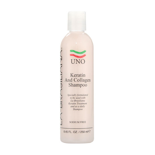 La Brasiliana Uno Keratin and Collagen Shampoo 250ml, , large
