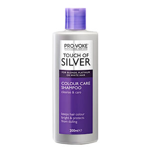 PRO:VOKE Touch Of Silver Colour Care Shampoo 200ml, , large