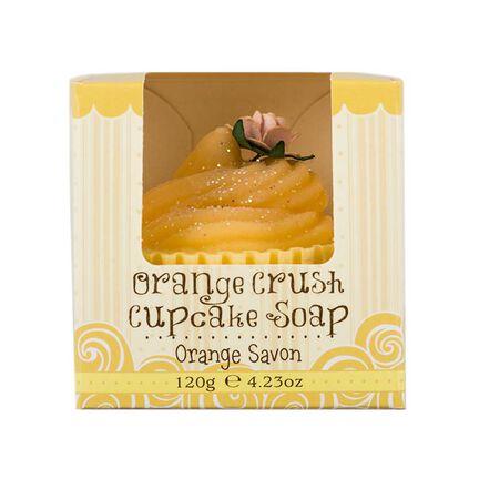 Rose & Co Patisserie de Bain Orange Crush Cupcake Soap 120g, , large