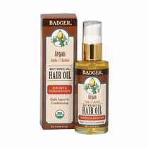 Badger Balm Botanical Hair Oil 59.1ml, , large