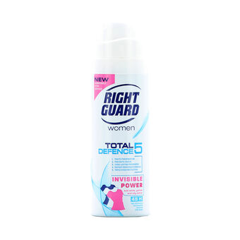 Right Guard Total 5 Defence Women Invisable Anti Perspirant, , large
