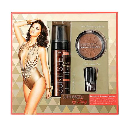 Sunkissed By Lucy Beautifully Bronzed Medium Gift Set, , large