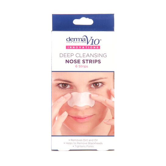 Derma V10 Q10 Innovations Nose Strips 6 Pack, , large