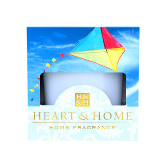 Heart & Home Votive Candle Cerulean Sky 57g, , large