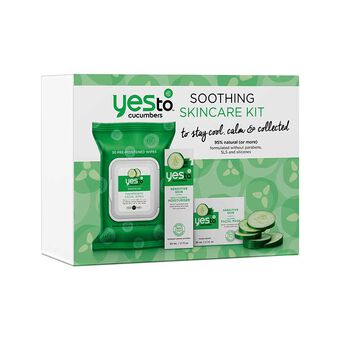 Yes To Cucumbers Soothing Skin Gift Set, , large