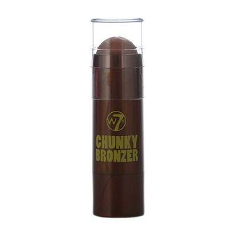 W7 Chunky Bronzer Pan Stick Hawaiian Bronze 7g, , large