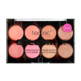 Technic Colour Fix Cream Blush & Bronze Pallete 8x2.6g, , large