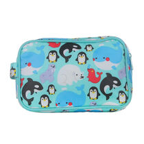 Bath Time Adventures Polar Animals Wash Bag, , large