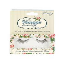 The Vintage Cosmetic Company Betty False Eyelashes, , large