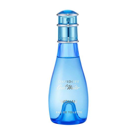 Davidoff Cool Water Woman Eau de Toilette Spray 100ml, , large