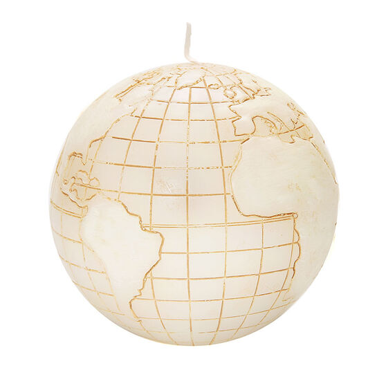 Levin Brothers Globe Candle Plain, , large