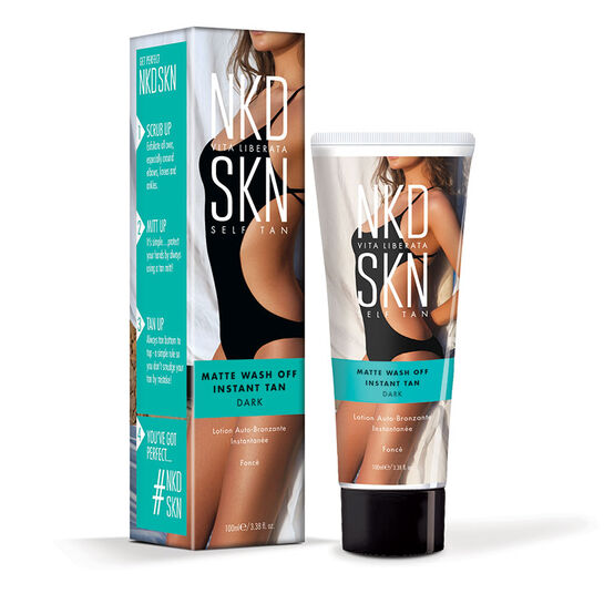 NKD SKN Instant Matte Wash Off Dark Lotion 100ml, , large