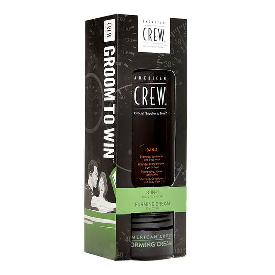 American Crew Forming Cream 85g with Free Gift, , large