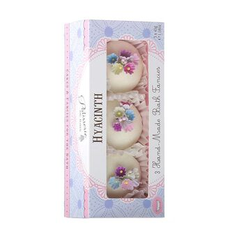 Rose & Co Patisserie de Bain Cupcake Bath Melts Hyacinth, , large