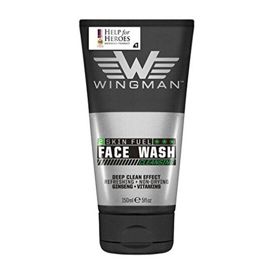 Wingman Skin Fuel Cleansing  Face Wash 150ml, , large