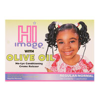 Hi Image No Lye Conditioning Relaxer Kit Oilve Oil 1 App, , large