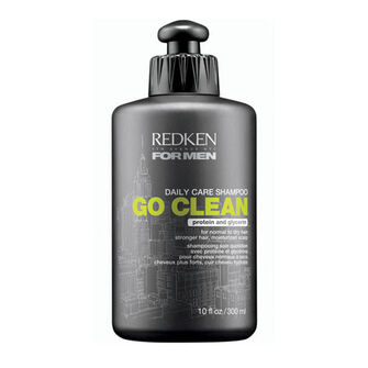 Redken for Men Go Clean Shampoo 300ml, , large