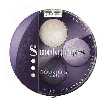 Bourjois Smoky Eyes Eyeshadow Trio 4.5g, , large
