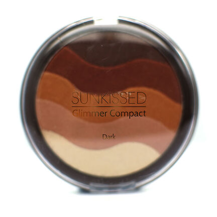 Sunkissed Glimmer Compact Dark 19.5g, , large