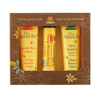 The Naked Bee Orange Blossom Honey Mini Bee Kit, , large