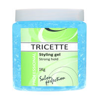 Tricette Strong Hold Blue Hair Gel 1kg, , large