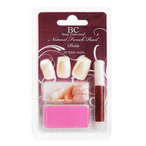 Body Collection Natural French Pearl Petite 24 False Nails, , large