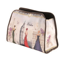 Royal Vintage Chic Toiletry Bag London, , large