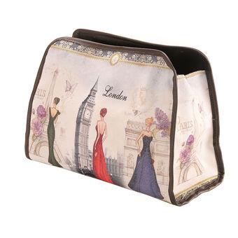 Royal Vintage Chic Toiletry Bag London, , large