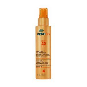NUXE Sun Milky Spray For Face And Body SPF20 150ml, , large