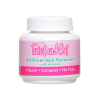 Pretty Perfect Twist & Out Instant Nail Polish Remover 55ml, , large