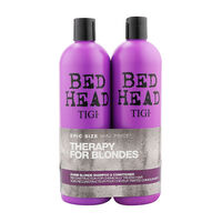 Tigi Bed Head Dumb Blonde Twin 2 x 750ml, , large